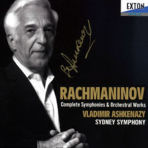 Rachmaninov - Complete Orchestral Works, Ashkenazy