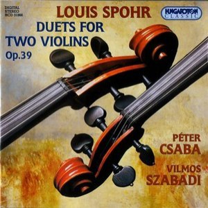 Spohr, Louis-duets For Two Violins Op39