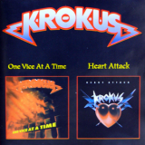 Krokus - One Vice At A Time (1982) & Heart Attack (1988) '1999