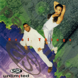 2 Unlimited - Real Things (CD, Album) (Japan, Mercury, PHCR-1255) '1994