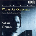 Uuno Klami - Works For Orchestra (sakari Oramo) '1995