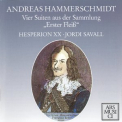 Hesperion XX & Jordi Savall - Hammerschmidt - Suites From The Collection 'erster Fleiss' '1996