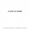 Faith No More - Who Cares A Lot? [Motor Music Gmbh, CD-R, Germany] '1998