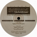 Cristian Vogel - Demolish Serious Culture [EP] '1996